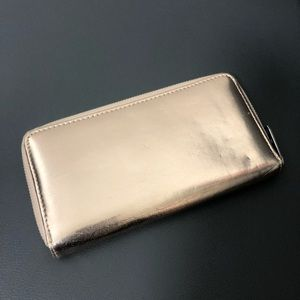 MARC JACOB | Metallic continental wallet